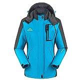 HengJia Women's Snow Jacket weatherproof Sports Jackets with Fleece Lining