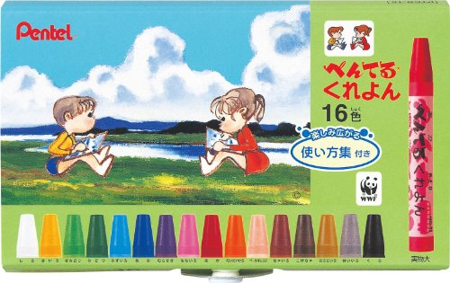 Pentel Crayons 16-set Pentel Crayons