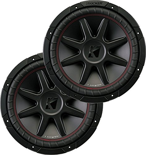 "(2) Kicker 43CVR104 10"" Dual Voice Coil 4-Ohm Car Stereo Subwoofers Totaling 1600 Watt"