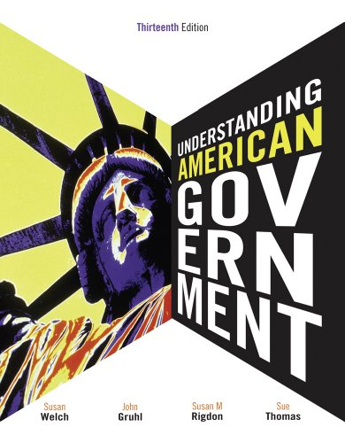 Bundle: Understanding American Government, 13th + Political Science CourseMate with eBook Printed Access Card