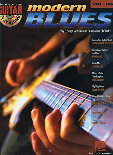 Modern Blues: Guitar Play-Along Volume 166 (Hal Leonard Guitar Play-Along)