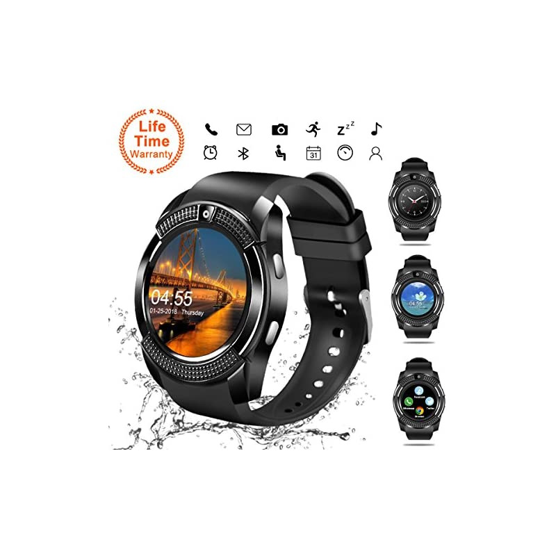 Smart Watch,Bluetooth Smartwatch Touch S