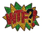 Navika WTF?! Glitzy Ball Marker with Magnetic Hat Clip by USA