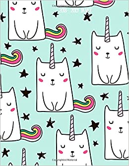 2018-2019 Diary: Unicorn Cat Design Weekly & Monthly ...