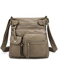 Accent Top Belt Crossbody Bag H1833