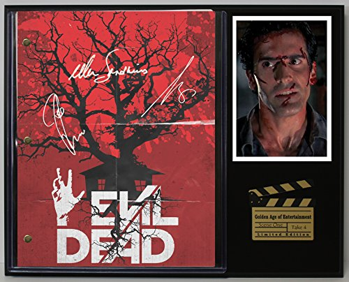 "Evil Dead Limited Edition Reproduction Movie Script Cinema Display""C3"""