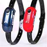 Red Waterproof Real Time Locator Mini GPS Tracker for Pets Dogs Cats Tracking