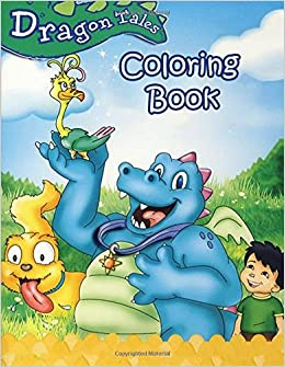 Amazon.com: Dragon Tales: Coloring Book for Kids and Adults ...