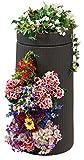 35 gallon planter - Good Ideas Antebellum Vertical Garden Planter, Dark Brown