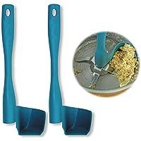 Aptech Rotation Scraper, Rotating Spatula for TM5, TM6, TM31, Kitchen Utensil Food Processor Scraper for Pots Wall Prevent Food Waste (Set of 2)