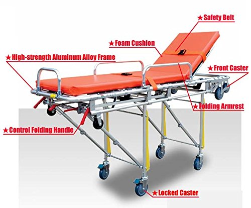 Ambulance Stretcher Equipment Emergency Wheelchair
