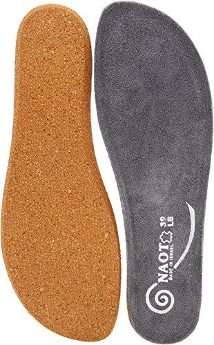 Naot Women's Koru Footbed,Gray,38 M EU / 7 B(M) US