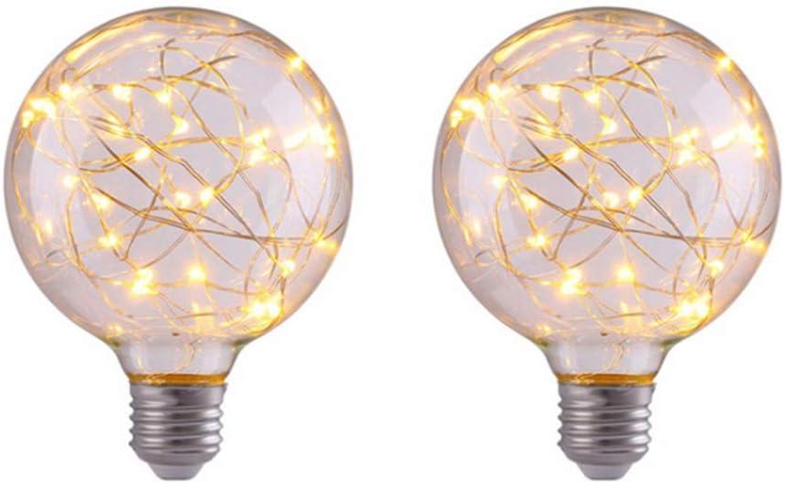 1Pcs, Purple LED Ambient Light for Party Home Globe LED Fairy Light Mobestech LED Fairy Light Bulb