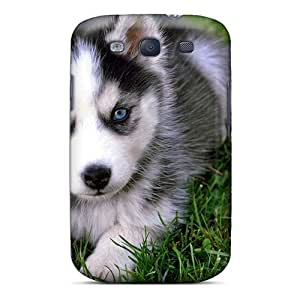 Best Hard Cell-phone Cases For Samsung Galaxy S3 With Unique Design HD Animals Dogs Siberian Husky Series ZabrinaMcVeigh