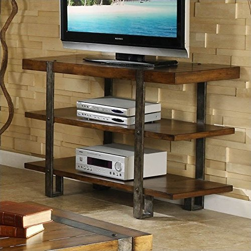 Sierra Rectangular Console Table (Riverside Desk Oak)