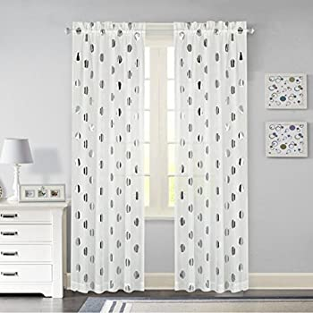 Amazon Com Lovemyfabric Cotton Polka Dot Print Curtain