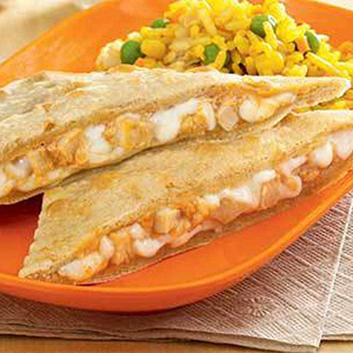 Coyote Grill Whole Grain Chicken and Cheese Quesadilla - 96 per case. ()