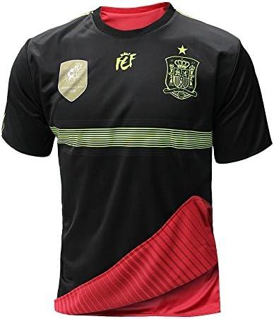 Selección española de fútbol. Camiseta oficial reversible. 2 en 1. (L): Amazon.es: Deportes y aire libre