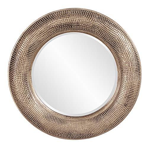 Howard Elliott 43108 Raymus Hammered Round Mirror