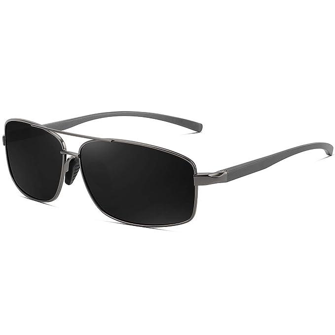 Amazon.com: WOWSUN Gafas de sol polarizadas para hombres ...