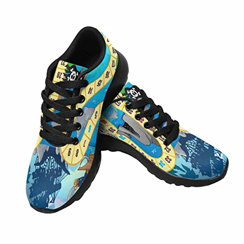 InterestPrint Womens Trail Running Shoes Jogging Lightweight Sports Walking Athletic Sneakers Board Game Theme Multi 1 ZHGi1lB1OW