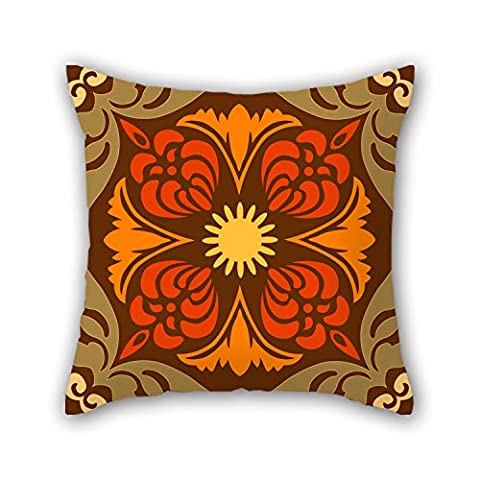 PILLO Bohemian Pillowcover 18 X 18 Inches / 45 By 45 Cm Gift Or Decor For Bf,pub,kitchen,study Room,valentine,kids Girls - Double Sides
