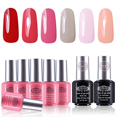 Perfect Summer Gel Nail Polish - UV/LED Soak Off Pure Colors