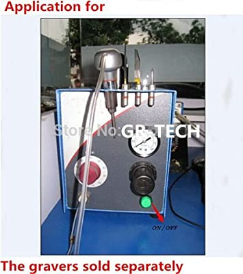 Engraving Handpiece for Pneumatic Engraving Machine Boquite Engraving Jewelry Machine Tools