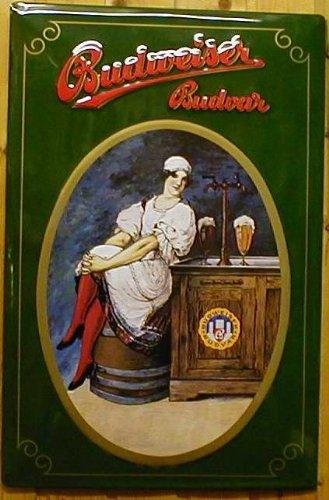 Cartel de Chapa Cerveza Budweiser Budvar (1)/Cerveza: Amazon ...