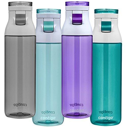 Contigo Jackson Reusable Water Bottle, 24oz, Smoke