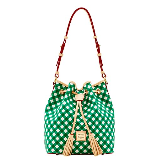 Dooney & Bourke Gingham Kendall Drawstring