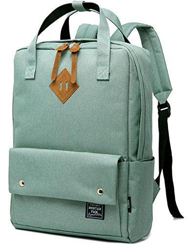 BLOOMSTAR Fashion Lightweight School Rucksack Laptop Schulter Tasche Casual Daypack Travel Rucksack (Blau) Hellgrün Jltmg