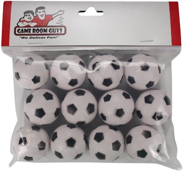 12 balón de fútbol estilo Foosballs para Tornado, dinamo o Shelti cuadros: Amazon.es: Deportes y aire libre