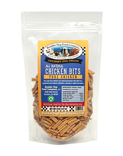 Chicken Bits, 8 oz: Grain Free Dog Treats - Dog Treats Made in USA Only - All Natural Dog Treats - Healthy Dog Treats - Dog Snacks