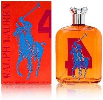 Ralph Lauren Big Pony 4 Eau de Toilette Vaporizador (Orange) 125 ...