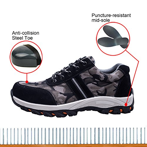 Protect Shoes Shoes Shoes Toe Work Safety Women's Optimal pxOgXX