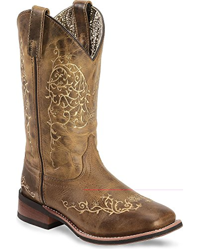 Embroidered Western Boots - 1
