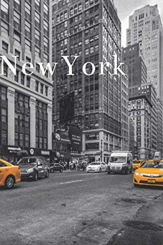 Notebook Miami - New York: Lined Notebook/Journal for Writing, Cover City/View Notebook (110 pages, Lined, 6 x 9 inches, Matte, Colorful Cover) || Cities Notebooks