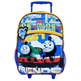 New Thomas the Tank Engine Light up Large Rolling Backpack/luggage