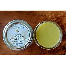 Organic Beeswax Wood Polish and Sealant ~ Sweet Orange and Lavender ~ 4oz