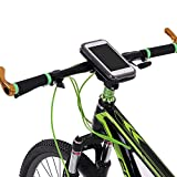 Black Type 1 Rainproof Motorcycle Bike Handlebar Mount Holder Case Bicycle Mobile Phone Case for 5.5