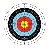 30Pcs Archery Paper Targets 16 x 16 inch Arrow Targets Shooting Accessories Ideal for Match and Daily Practice Use Outdoor Shooting Practice