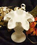 fenton glass vase Fenton Milk Glass Hobnail Mini Vase