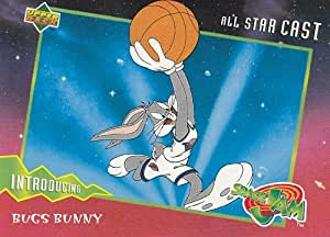 Space Jam - Trading Cards - Single Cards - NON-SPORTS 1996 Upper Deck Space Jam Single Trading Card #01 Bugs Bunny