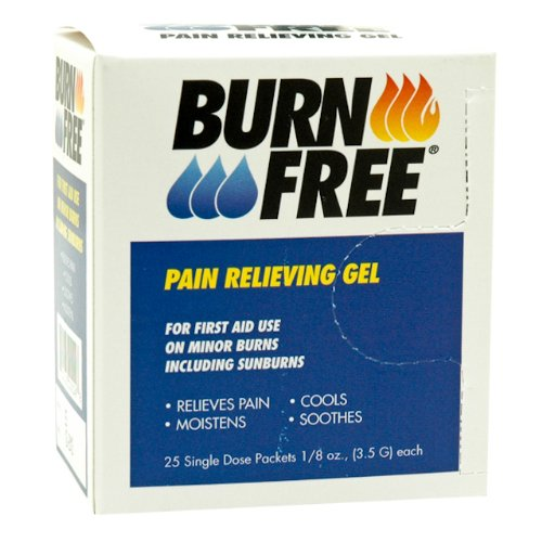 North by Honeywell 20BFSD25 Burn Free, Unit Dose 1/8 Ounce Foil Pack, 24 per box Ointment Foil