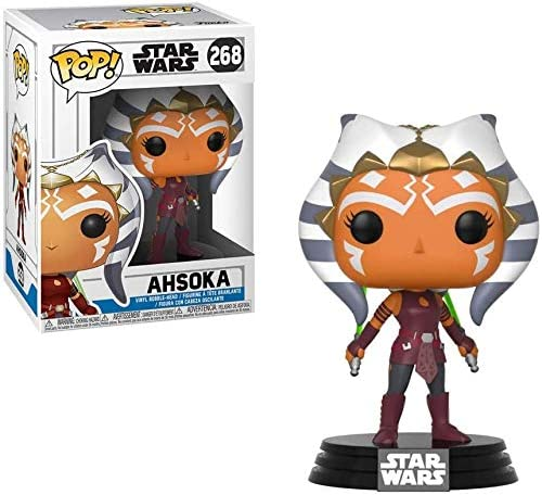 Ahsoka #268 Pop TV Includes Ecotek Pop Box Protector Case Clone Wars Vinyl Figure