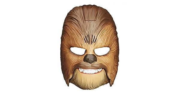 Horror-Shop Chewbacca wookie máscara con sonido: Amazon.es: Juguetes y juegos