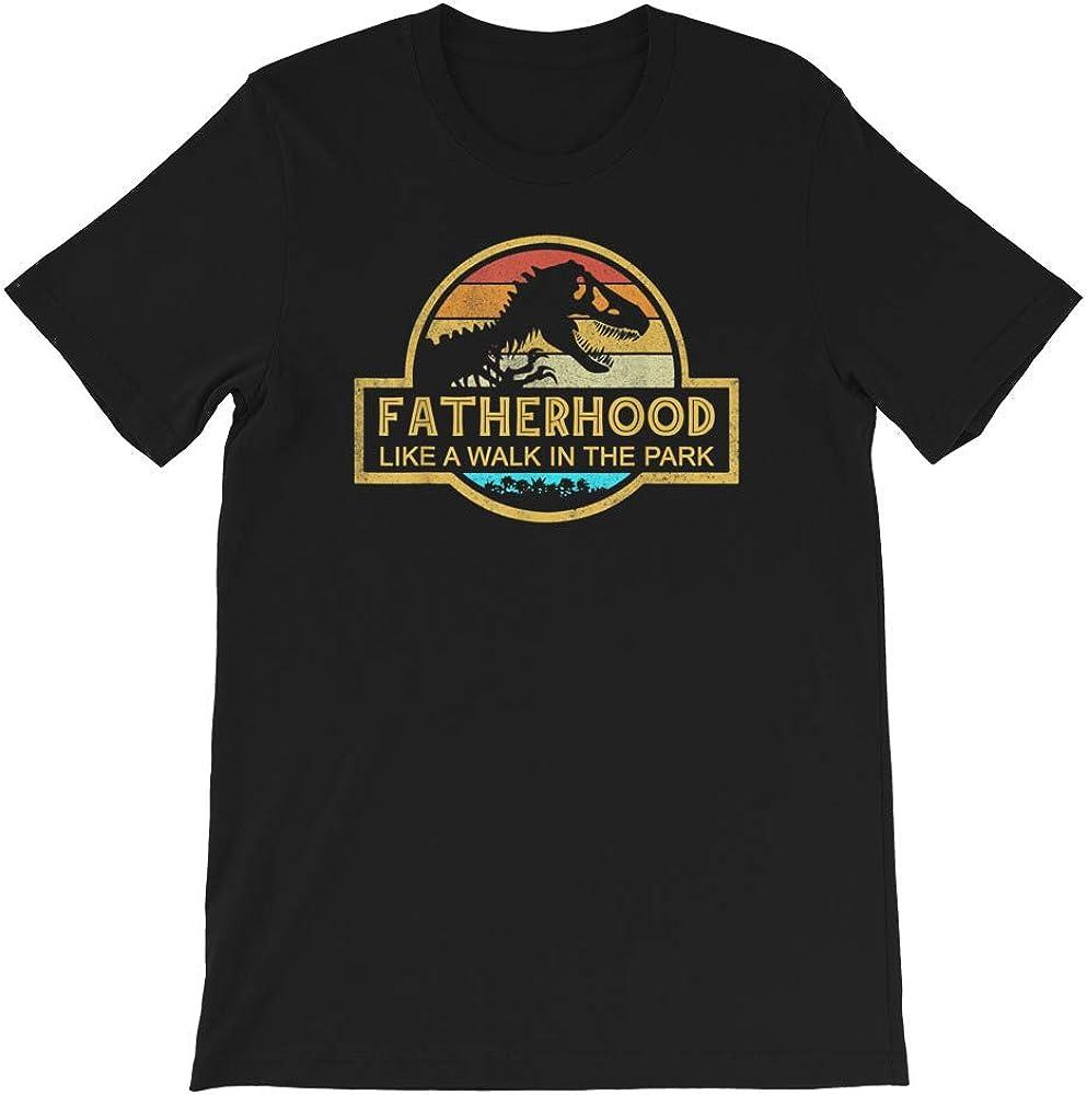 Father Hood Like a Walk in The Park Vintage Gift Mens Womens Girls Unisex T-Shirt Sweatshirt