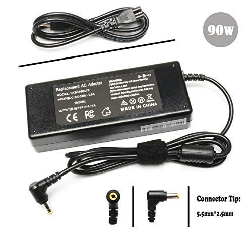 PA3714U-1ACA Ac Adapter Charger Power Cord Supply for Toshiba Satellite C655 C655D C675 C850 C855 C55 C75 L305 L455 L505 L645 L745 L755 L775 L855 L875 A105 A205 A215 A305 - Power Satellite Cord C655
