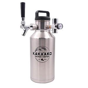 Kakaako Brewing Pressurized Growler
